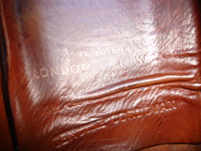Church's Custom Grade - Cordovan or Bookbinder Leather